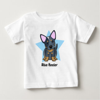Kawaii Star Blue Heeler Baby's Baby T-Shirt