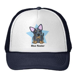 Kawaii Star Blue Heeler Hats