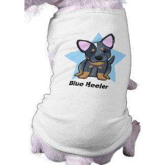 Kawaii Star Blue Heeler Tee