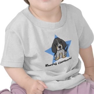 Kawaii Star Bluetick Coonhound Baby's T-Shirt