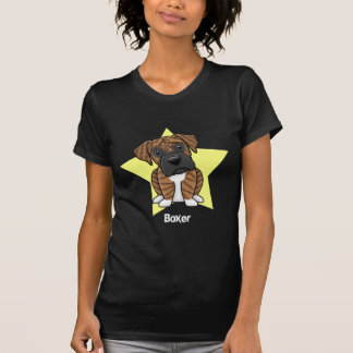 Kawaii Star Brindle Boxer Tee Shirt