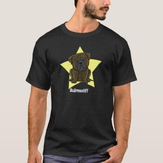Kawaii Star Brindle Bullmastiff T-Shirt