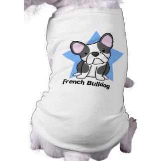 Kawaii Star BW French Bulldog Tee