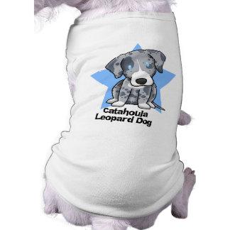 Kawaii Star Catahoula Leopard Dog Dog Clothes