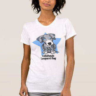 Kawaii Star Catahoula Leopard Dog Ladies' T Shirt