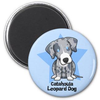 Kawaii Star Catahoula Leopard Dog Magnet