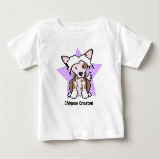 Kawaii Star Chinese Crested Baby's Tshirts