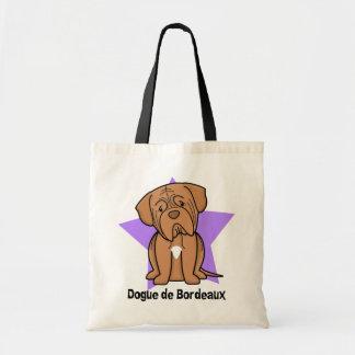 Kawaii Star Dogue de Bordeaux Tote Bag