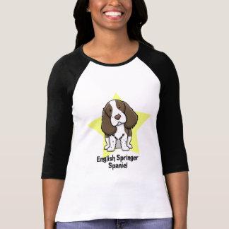 Kawaii Star English Springer Spaniel Tee Shirt