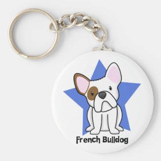 Kawaii Star French Bulldog Key Chains