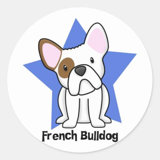 Kawaii Star French Bulldog Sticker