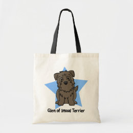Kawaii Star Glen of Imaal Terrier Tote Bag