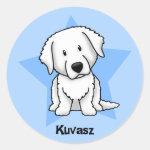 cute kawaii kuvasz stickers
