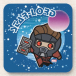 Kawaii Star-Lord In Space Beverage Coaster