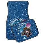 Kawaii Star-Lord In Space Car Mat