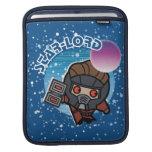Kawaii Star-Lord In Space Sleeve For iPads