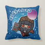 Kawaii Star-Lord In Space Throw Pillow