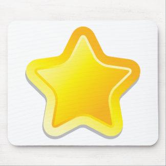 Kawaii star mousepads