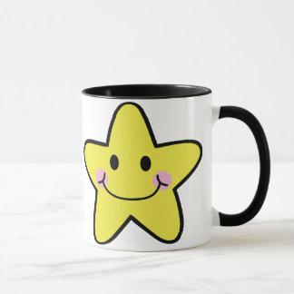 kawaii star mug
