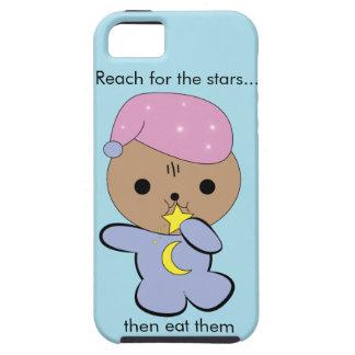 Kawaii star muncher kitten iPhone case
