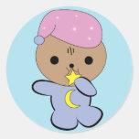 Kawaii star muncher kitten sticker
