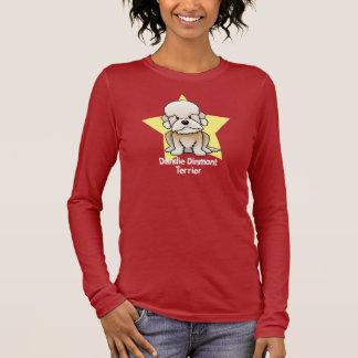 Kawaii Star Mustard Dandie Dinmont Terrier Long Sleeve T-Shirt