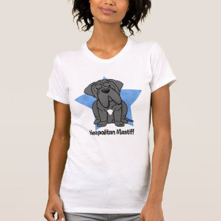 Kawaii Star Neapolitan Mastiff Ladies T-Shirt