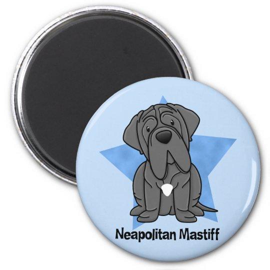 Kawaii Star Neapolitan Mastiff Magnet