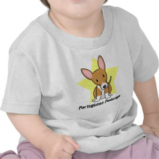 Kawaii Star Portuguese Podengo Baby's T-Shirt