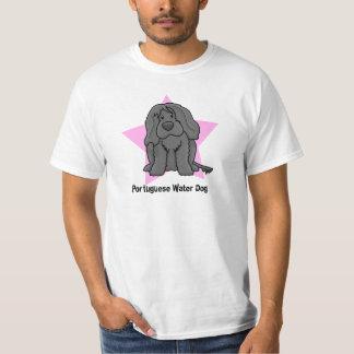 Kawaii Star Portuguese Water Dog T-shirt