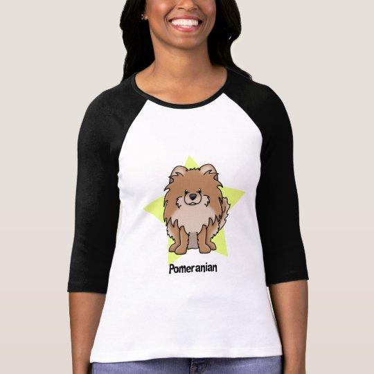 Kawaii Star Red Pomeranian T-Shirt