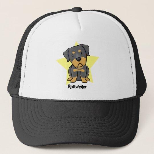 Kawaii Star Rottweiler Trucker Hat