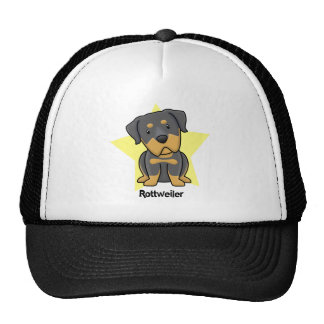 Kawaii Star Rottweiler Trucker Hat