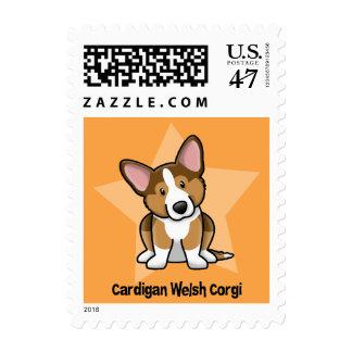 Kawaii Star Sable Cardigan Welsh Corgi Postage