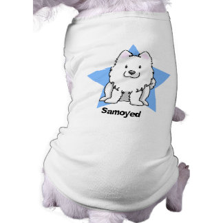 Kawaii Star Samoyed Pet Tee Shirt