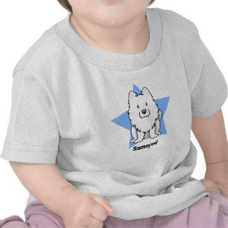Kawaii Star Samoyed Tshirts