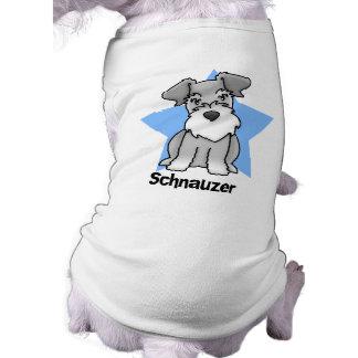 Kawaii Star Schnauzer Pet Shirt