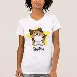 Kawaii Star Sheltie Ladies TShirt