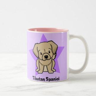 Kawaii Star Tibetan Spaniel Coffee Mug