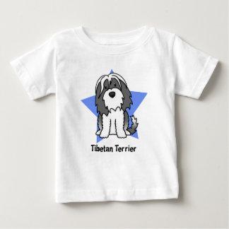 Kawaii Star Tibetan Terrier Baby's Baby T-Shirt