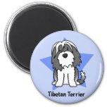 Kawaii Star Tibetan Terrier Magnets
