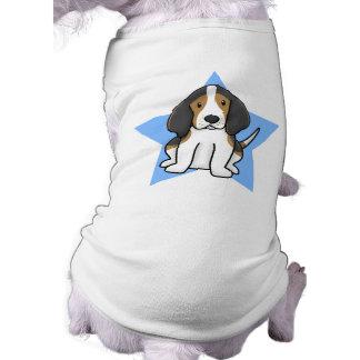 Kawaii Star Treeing Walker Coonhound Pet Tshirt