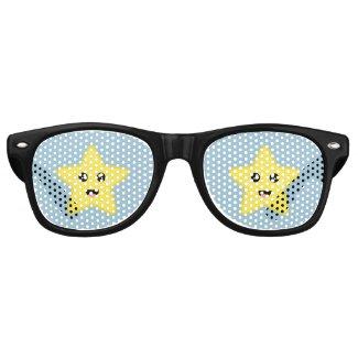 Kawaii Star Wayfarer Sunglasses