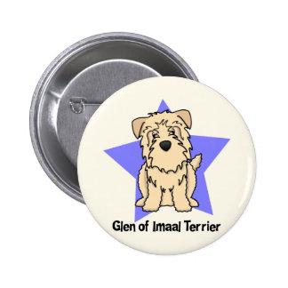 Kawaii Star Wheaten Glen of Imaal Terrier Buttons