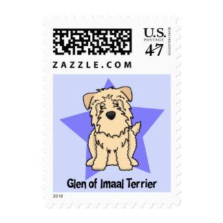 Kawaii Star Wheaten Glen of Imaal Terrier Postage