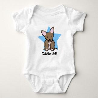 Kawaii Star Xoloitzcuintli Baby Creeper