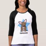 Kawaii Star Xoloitzcuintli Ladies Tee Shirt