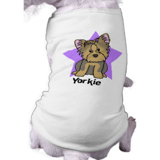 Kawaii Star Yorkshire Terrier Doggie Tee