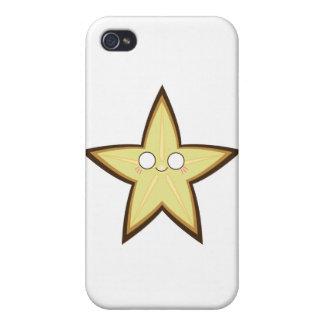 Kawaii Starfruit iPhone 4 Covers