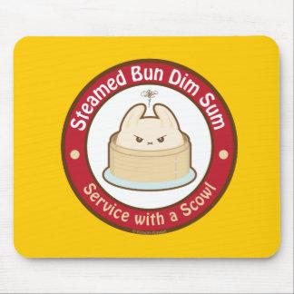 Kawaii Steamed Bun Dim Sum Mouse Pad